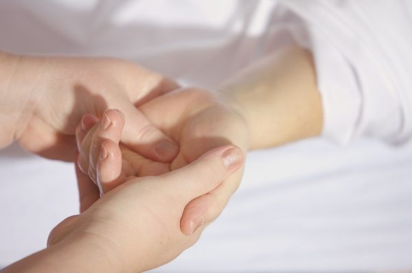 Gentle treatment for hands or feet